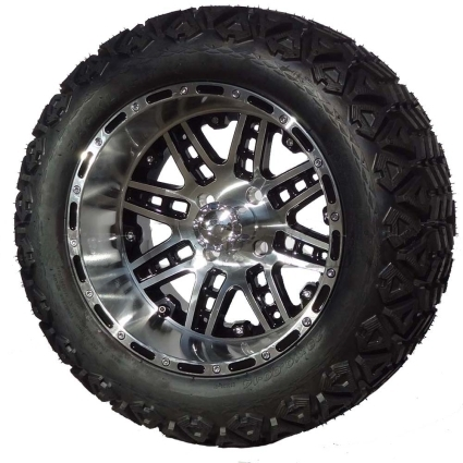 "Tire Wholesale Warehouse >> 14"" Golf Cart Tire/Wheel Package Combo with Lift Kit. Fits ..."