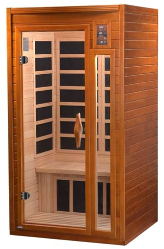 Infrared Sauna With Salt Wall In Nh Hotel Zandvoort The: 1-2 Person Infrared Sauna With 6 Heaters