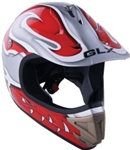 Youth Barracuda Motocross Helmet (DOT Approved)