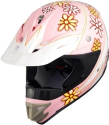 Youth S & S Motocross Helmet (DOT Approved)