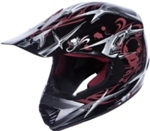 Youth Skull Motocross Helmet (DOT Approved)