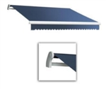 High Quality Blue 13' x 8' Retractable Patio Awning Canopy