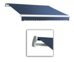High Quality Blue 10' x 8' Retractable Patio Awning Canopy