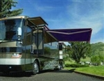 High Quality Blue 11.5' x 8' RV Retractable Patio Awning Canopy