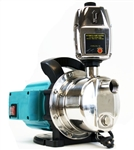 1.6HP Stainless Steel Jet Shallow Water Pressure Booster Pump w/ Controller