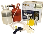 Brand New Home Sealing Fire Retardant Open Cell Spray Foam Insulation Kit 300 BF