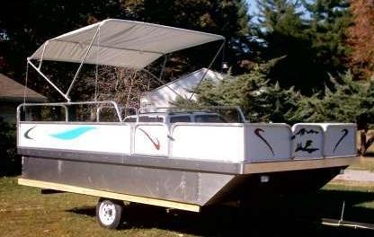 Brand New 8 Ft X 12 Ft Pontoon Boat Kit