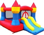 Inflatable Castle Red & Blue Bouncer
