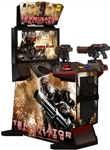 "Terminator Salvation Arcade with 32"" LCD HD Widescreen Monitor"