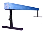 "High Quality Blue 8' Gymnastics Balance Adjustable 12""-18"" High Beam"