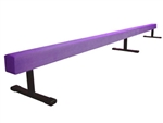 "High Quality Purple 12' Gymnastics Balance 12"" High Beam"