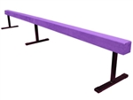 "High Quality Purple 12' Gymnastics Balance 18"" High Beam"