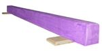High Quality Purple 8' Gymnastics Balance Low Beam