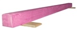 High Quality Solid Pink 10' Gymnastics Balance Low Beam