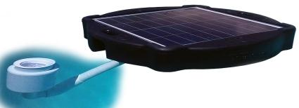 Brand New Surface Pond Skimmer Solar Pond Cleaner 60 Watts