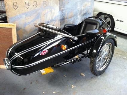 Rocket Side Car Motorcycle Sidecar Kit