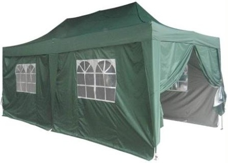 Heavy Duty 10 X 20 Green Ez Pop Up Party Tent