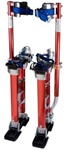 red 18-30 stilts