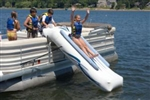 High Quality Inflatable Pontoon Water Slide