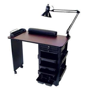 Portable roll ex manicure table for Mobile manicure table