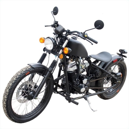 250cc custom bobber chopper motorcycle. Black Bedroom Furniture Sets. Home Design Ideas