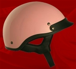 Adult Pink Half Helmet Cruising Helmet (DOT Approved)