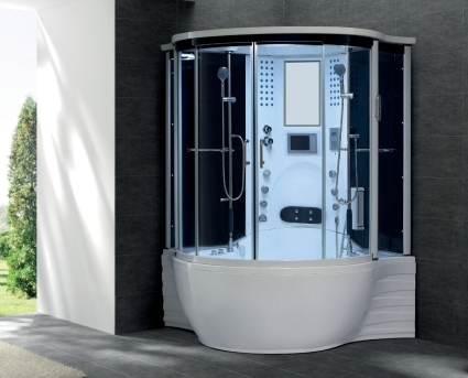 Zen Brand New Jetted Hot Tub Computerized Massage Shower