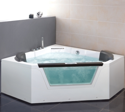 Whisper brand new am156jdtsz jetted whirlpool bathtub for Top bathtub brands