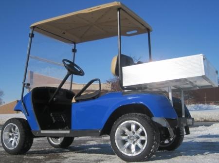Custom Ez Go 36v Electric Utility Golf Cart With Aluminum