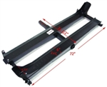 Double Motorcycle Dirt Bike Carrier Hauler With Rack Ramp