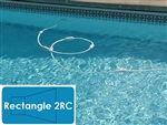 Complete 14'x28' Rectangle 2RC In Ground Swimming Pool Kit with Steel Supports