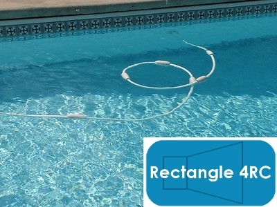 Complete 14\'x28\' Rectangle 4RC In Ground Swimming Pool Kit with Steel  Supports