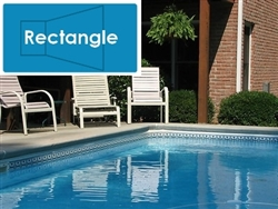 Complete 14'x28' Rectangle In Ground Swimming Pool Kit with Wood Supports