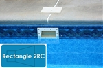 Complete 16'x32' Rectangle 2RC In Ground Swimming Pool Kit with Steel Supports