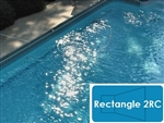 Complete 16'x32' Rectangle 2RC In Ground Swimming Pool Kit with Wood Supports