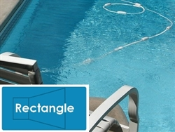 Complete 16'x36' Rectangle In Ground Swimming Pool Kit with Steel Supports