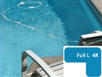 Complete 16x38x24 Full L 4R InGround Swimming Pool Kit with Steel Supports
