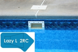 Complete 16'x42' Lazy L 2RC InGround Swimming Pool Kit with Polymer Supports