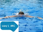 Complete 16'x42' Lazy L 4RC InGround Swimming Pool Kit with Wood Supports