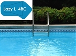 Complete 18'x44' Lazy L 4RC In Ground Swimming Pool Kit with Wood Supports