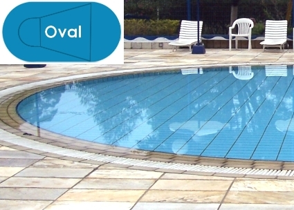 Complete 20\'x41\' Oval InGround Swimming Pool Kit with Wood Supports