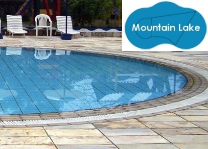 Complete 21\'x35\' Mountain Lake InGround Swimming Pool Kit with ...