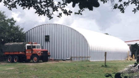 40 X 70 X 16 Steel Storage Metal Arch Pole Barn Building