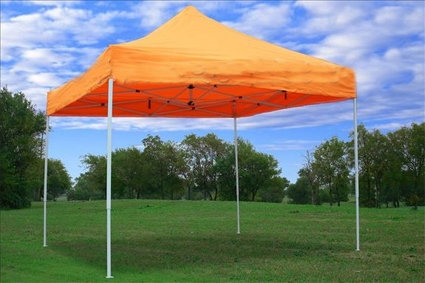 Make easy monthly payments over 3 6 or 12 months & 10u0027 x 10u0027 Pop Up Orange Party Tent