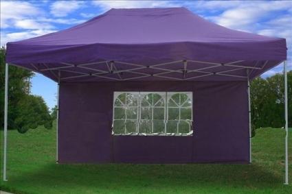 pretty nice c02f5 0c30e Heavy Duty 10' x 15' Purple Pop Up Party Tent