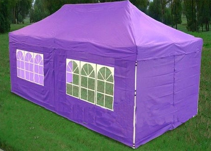 Purple 10 X 20 Pop Up Canopy Party Tent