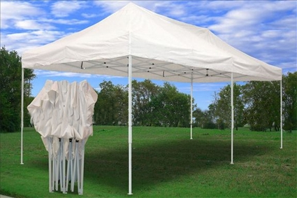 White 10 X 20 Pop Up Canopy Party Tent