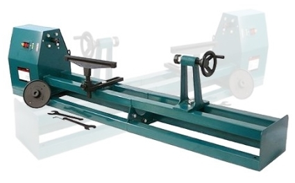 40 Inch 4 Speed 1 2 Hp 120v Wood Turning Lathe Machine