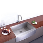 "High Quality 30"" x 20"" Stainless Steel Single Bowl Under Mount Kitchen Sink"