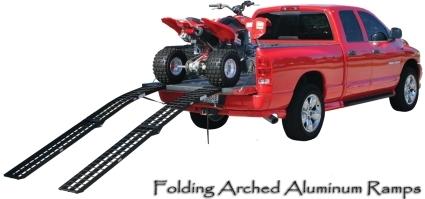 Atv Truck Ramps >> Brand New 10 Folding Arched Atv Ramp